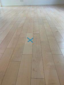 床なりの箇所